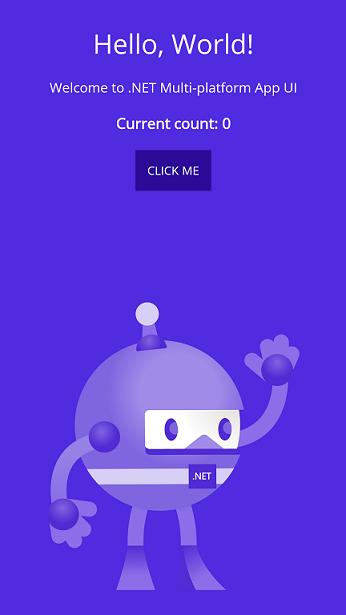 Template app image